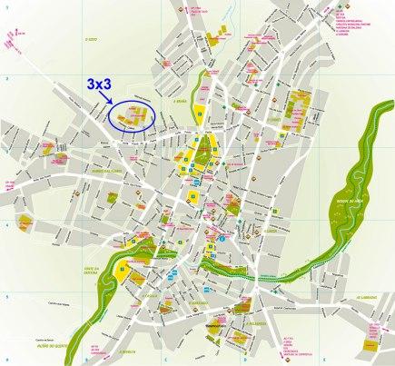 Mapa Carballo localización